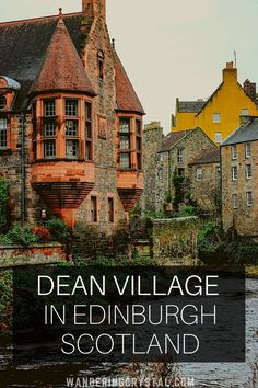 Things to do in Dean Village which sits in the heart of Edinburgh Scotland. Don't miss out on spending an afternoon walking around the historic village. Day Trips From Edinburgh, Edinburgh Scotland, Scotland Travel, Scotland Trip, Skye Scotland, Backpacking Europe, Europe Travel Tips, Dean Village Edinburgh, Viajes