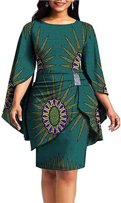 private afripride African Print Dresses for Women Dashiki Dress+Mini Skirt Ankara Aline Clothing Wax Best African Dresses, Latest African Fashion Dresses, Ankara Fashion, African Attire, African Dress Designs, Latest African Styles, African Print Clothing, African Print Fashion, Africa Fashion