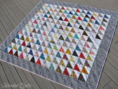 Saltwater Quilts: The I Spy Quilt made it to the beach!!