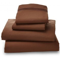 Luxury 4 Piece Ultra Microfiber Bed Sheet Set