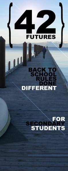 42 Futures - My Back to School Rant for Secondary Teachers (and others too) :) by Created for Learning. Back To School Tips For Teachers High School Classroom, Science Classroom, School Teacher, English Classroom, Teacher Stuff, Classroom Ideas, Classroom Procedures, Future Classroom, 1st Day Of School