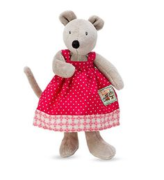 The best in plush pets-our Moulin Roty Playful Woodland Plush Mouse is the perfect pairing of soft and squishy for little hands to grab and carry. Lovable faces capture kids' hearts and imaginations. Each plush p...