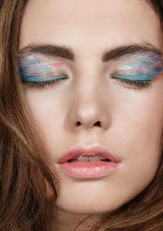 Marbles art eye make up | DREAMY EYES | ODI CASPI — Patternity