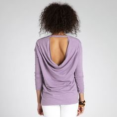 "Reverse Cowl Neck Pullover from Beyond Yoga--Aaaaah, as one of my teacher says ""Protect me from the things I want"" lol"