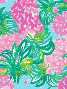 Lily Pulitzer Wallpaper, Lilly Pulitzer Prints, Pineapple Shake, Pineapple Wallpaper, Painted Stools, Mother Daughter Dresses Matching, All Print, Digital Image, Painting