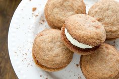 Tiramisu Cookies with Mascarpone Cream Filling
