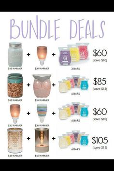 Combine and Save Bundles! Order today at https://breed.scentsy.us Email me: ScentsyWithBrandi@hotmail.com Follow Me: facebook.com/reed.brandi16 Text me: 208-680-9386