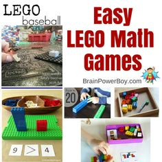 Learning math with Legos.