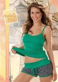 Resultado de imagen para pijamas modernos mujer Cute Pjs, Girls Pajamas, Corset, Tankini, Underwear, Bodysuit, Shorts, Swimwear, Stuff To Buy
