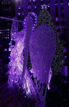 Christmas Angel in Purple ♥♥