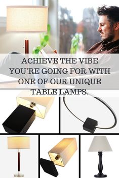Accenting is the answer! Achieve the vibe you're going for with one of our unique table lamps. Whether you're carving out a space to get comfy or to get to work, one of our impeccable designs will give your space the zhuzh it needs. #tablelamps #ledtablelamps #livingroomlight #livingroomlamp #livingroomtablelamps #bedroomtablelamp #bedroomlighting #bedroomlamps #modernlamps #moderntablelamp #contemporarytablelamp