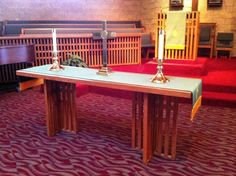 Communion Table at Wekiva Presbyterian Church