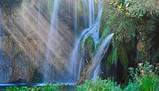 Wodospad, Park narodowy jezior Plitwickich, Chorwacja