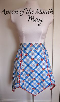 Apron of the month pattern