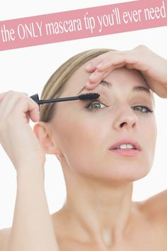 The ONLY mascara trick you'll ever need to know!.