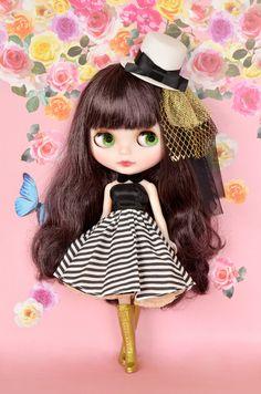 ブライス Anime Dolls, Doll Hair, Big Eyes, Crochet Dolls, Barbie Clothes, Blythe Dolls, Beautiful Dolls, Fashion Dolls, Cool Kids