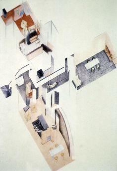 1923-1925   Le Corbusier   Villa La Roche, Paris, France