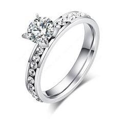 CACANA stainless steel rings for women circle CZ diamond fashion jewelry wholesale Fashion Rings, Fashion Jewelry, Fashion Fashion, Women Jewelry, Gold Fashion, Bridal Fashion, Fashion 2018, Unique Fashion, Titanium Rings