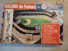 RARE 1964 Hasbro Challenge The Yankees Board Game Complete Mickey Mantle Vintage Board Games, Baseball Stuff, Mickey Mantle, Boards, Challenges, Antique, Sports, Planks, Hs Sports