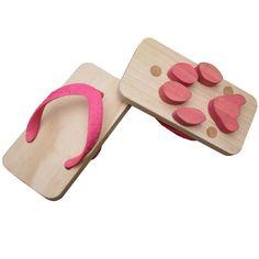 main image of Ashiato Animal Footprint Sandals