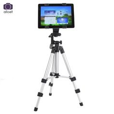 Professional Camera Tripod Stand Holder For iPhone iPad Samsung Digital Camera+Table PC Holder + Phone Holder + Nylon Carry Bag
