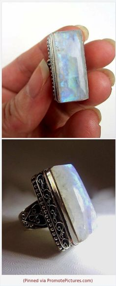Green ite Sterling Silver Overlay Ring Size 8.5 US Handmade Jewelry Delicate