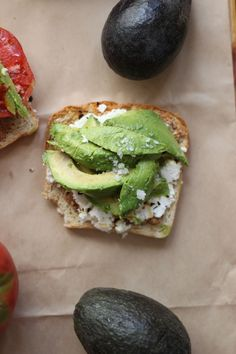 almond butter avocado (aba) sandwich with raw chevre, a drizzle of agave, and a sprinkle of chipotle pepper flakes. an easy vegetarian lunch recipe with lots of protein and plenty of healthy fats. One of my favorite, go-to meals.