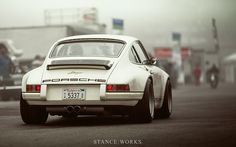 StanceWorks Wallpaper – A Singer Porsche at Mazda Laguna Seca Raceway