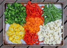 Blanching & freezing vegetables