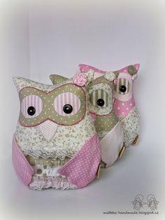 hand made by matteka: owls