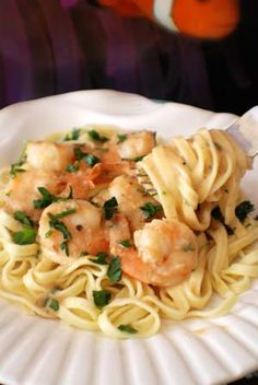 Barbara Adams Beyond Wonderful » Shrimp Scampi with Linguini Italian Recipe