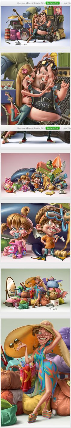 Family Chery by Oscar Ramos on Behance