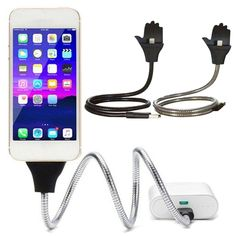Flexible USB Charger Stand For iPhone 6 7/ Samsung Android FREE SHIPPING | Cybercores