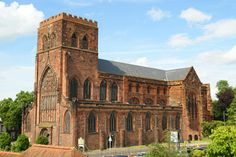 Shrewsbury Abbey was a Benedictine monastery founded in 1083 by the Norman Earl of Shrewsbury, Roger de Montgomery. In recent years it has become famous as the home of the fictional character, Brother Cadfael  by Ellis Peters.