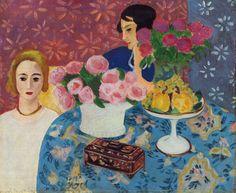"Henri Matisse: ""Chinese Casket"", 1922."