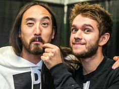 """""""Thanks so much to my dawg for being the secret guest last night! Steve Aoki, Edm, Che Guevara, Twitter, Music, Artist, Fictional Characters, Night, Musica"""