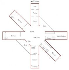 Cargo Container House Plans | octagon floor plan octagon floor plan. This one has enough bedrooms for all of us.