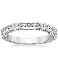 18K White Gold True Heart Ring from Brilliant Earth