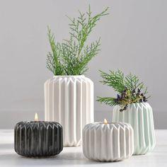 Ori Folded Ceramic Vase from notonthehighstreet.com