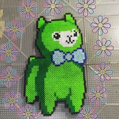 freakshowfix | Tumblr Perler Bead Templates, Diy Perler Beads, Pearler Bead Patterns, Perler Bead Art, Perler Patterns, Hama Beads Kawaii, Alpaca Stuffed Animal, 8bit Art, Peler Beads