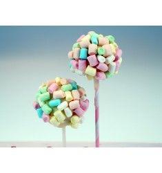 Cake Pops mit Mini Marshmallows