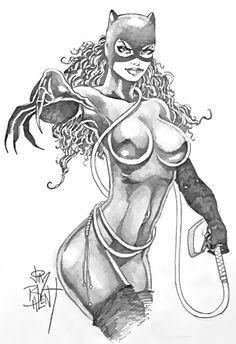 Catwoman Comic Art Auction your comics on http://www.comicbazaar.co.uk
