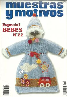 MyM 22 - 061 (487x700, 379Kb) Knit Crochet, Crochet Hats, Dinosaur Stuffed Animal, Teddy Bear, Christmas Ornaments, Knitting, Toys, Holiday Decor, How To Make