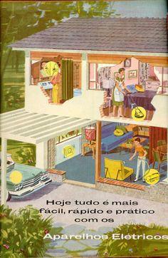 O Cruzeiro, n.27, 16 abr. No Brasil, essas transformações foram se consolidando ao longo da década de 1950, e alteraram o consumo e o comportamento de parte da população que habitava os grandes centros urbanos. A paisagem urbana também se modernizava, com a construção de edifícios e casas de formas mais livres, mais funcionais e menos adornadas, acompanhadas por uma decoração de interiores mais despojada, segundo os princípios da arquitetura e do mobiliário moderno1960.CPDOC/FGV/r47)
