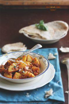 Spicy Potato Curry @Sneh Roy | Cook Republic