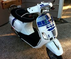 This IS The Vespa You're Looking For via @Incredible Things - I so need!!!!
