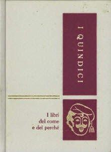 Copertina del volume 1 dell'enciclopedia I Quindici - da: Quel che debbo ai Quindici /1