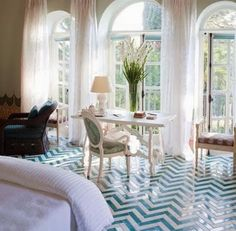 And these floors, too. Love them.