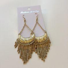 ✨30% off bundles✨Statement earrings New in packaging. Metal is zinc alloy Jewelry Earrings