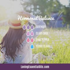 Lavender Diffuser Blends - Promote Comfort & Oily Wellness by Loving Essential Oils | Hormonal Balance with lavender, clary sage, pink pepper, and ylang ylang essential oil. Get the FREE Printable Cheat Sheet too! #lovingessentialoils #lavenderdiffuser #lavenderessentialoil